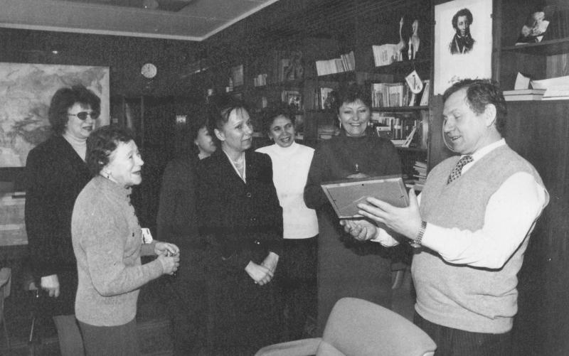 В кабинете генерального директора АО «Молодая гвардия»