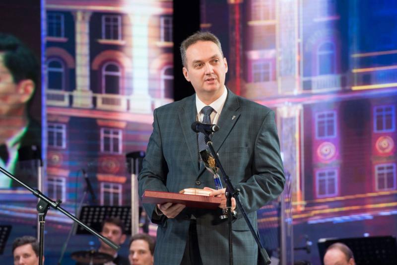 На церемонии награждения литературной премией ФСБ России