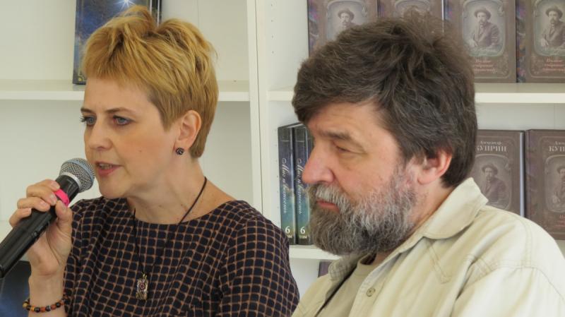Анна Сергеева-Клятис и Андрей Петров.