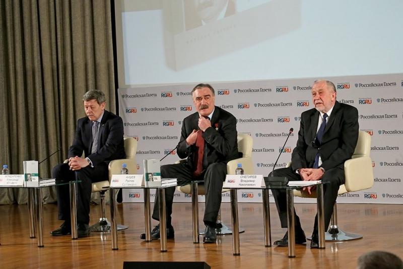 Александр Бондаренко, Руслан Аушев, Владимир Снегирев (слева направо)