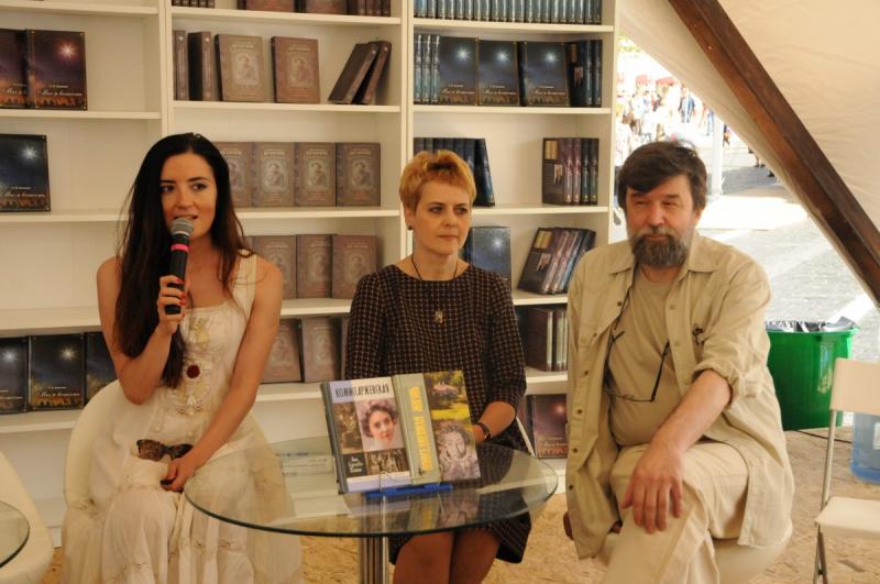 В мероприятии также принял участие главный редактор издательства «Молодая гвардия» Андрей Петров