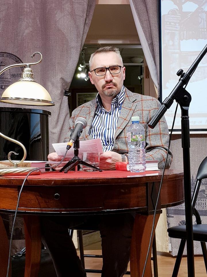 Александр Васькин в Музее Герцена
