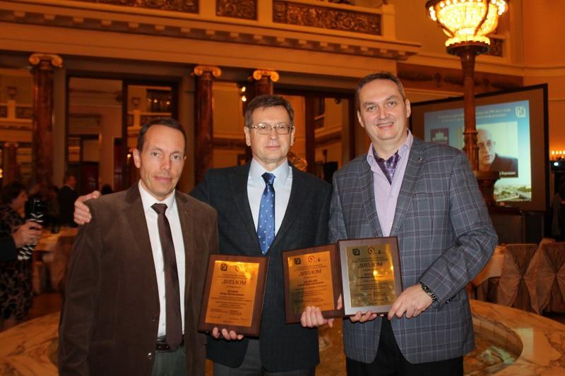 Александр Куланов (справа) – лауреат премии имени Юлиана Семенова
