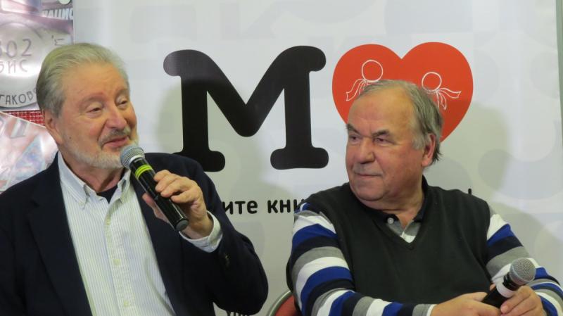 Вениамин Смехов и Александр Горбунов/Фото МГ
