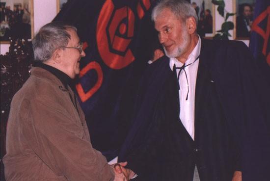 С Борисом Стругацким