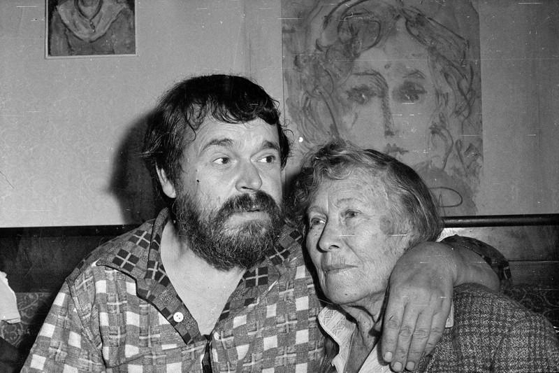 А. Зверев и К. Синякова-Асеева