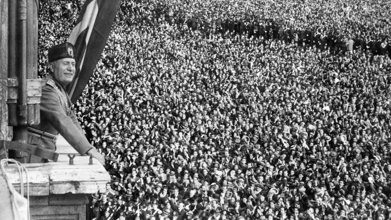 Обыкновенный фашизм Бенито Муссолини