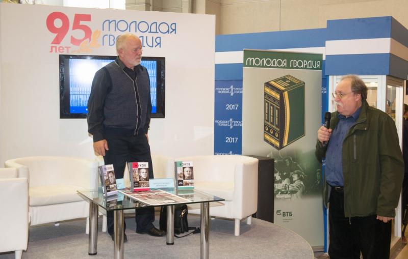 В мероприятии принял участие внук маршала, Константин Вильевич Рокоссовский