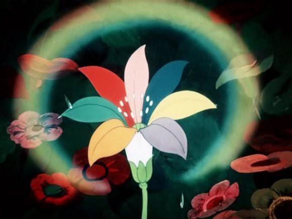 Кадр из мультфильма «Цветик-семицветик» по одноименному произведению Валентина Катаева